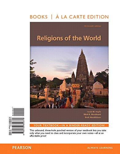 9780133852370: Religions of the World, Books a la Carte Edition (13th Edition)