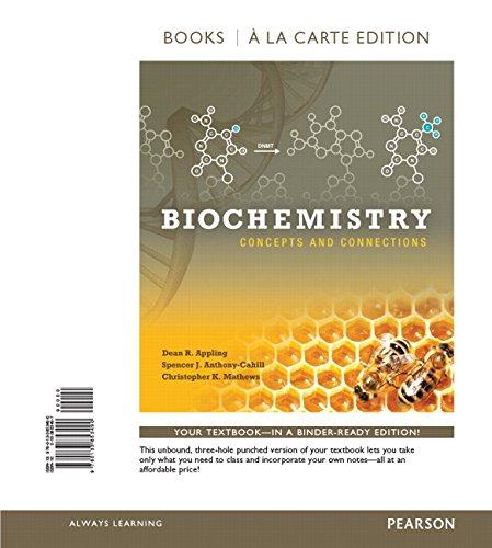 9780133853490: Biochemistry: Concepts and Connections, Books a la Carte Edition