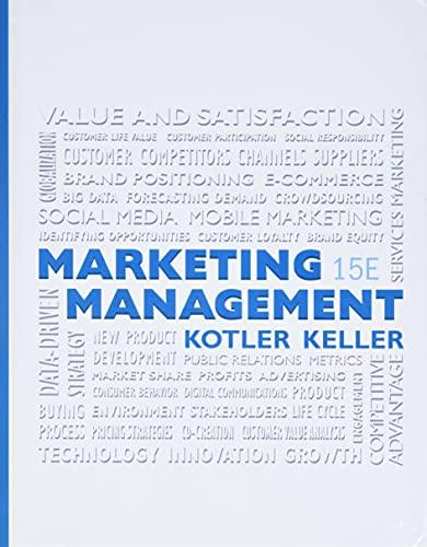 9780133856460: Marketing Management