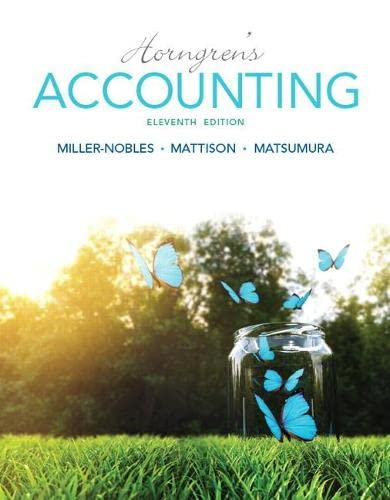 9780133856781: Horngren's Accounting (11th Edition)