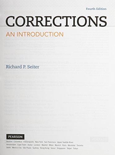 9780133858099: Corrections: An Introduction, Student Value Edition (4th Edition)