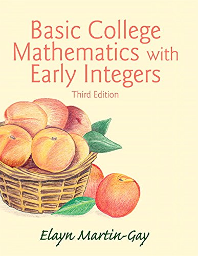 9780133858259: Basic College Mathematics with Early Integers Plus NEW MyLab Math with Pearson eText -- Access Card Package (3rd Edition) (What's New in Developmental Math?)