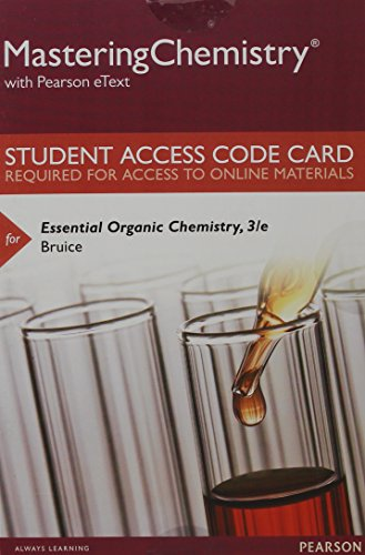 9780133858495: Mastering Chemistry with Pearson eText -- Standalone Access Card -- for Essential Organic Chemistry (3rd Edition)