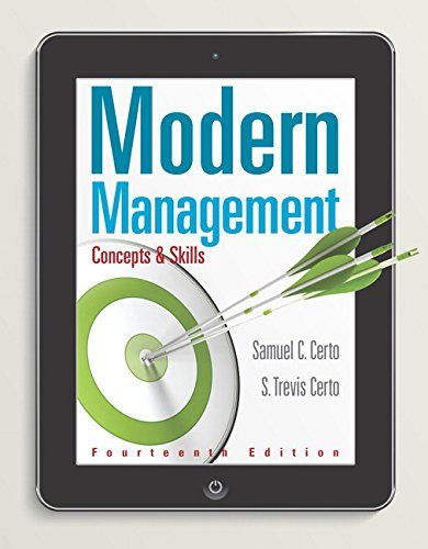 9780133859812: Modern Management: Concepts and Skills
