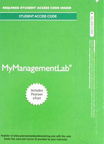 9780133861006: MyLab Management with Pearson eText -- Access Card -- for Fundamentals of Human Resource Management
