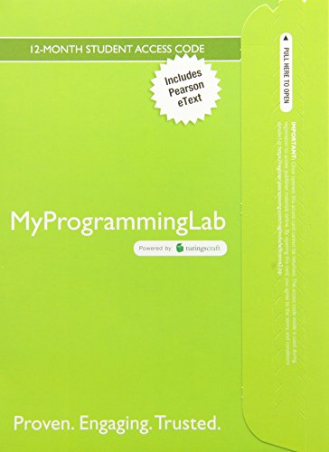 9780133862263: Starting out with Python, Student Value Edition with MyProgrammingLab - Access Card Package (3rd Edition)
