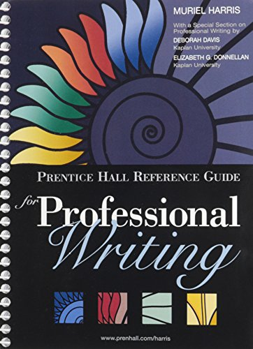 9780133862379: Prentice Hall Reference Guide for Professional Writing with NEW MyWritingLab--Access Card Package