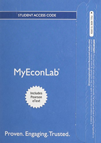 9780133862515: Mylab Economics with Pearson Etext -- Access Card -- For the Economics of Money, Banking and Financial Markets (My Econ Lab)
