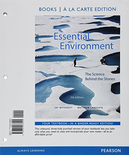 9780133862645: Essential Environment: The Science behind the Stories, Books a la Carte Plus Mastering Environmental Science with eText -- Access Card Package (5th Edition)