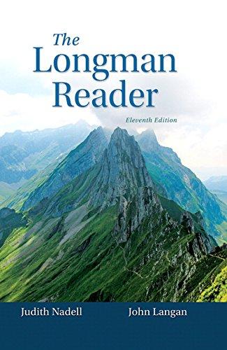 9780133862959: The Longman Reader (11th Edition)