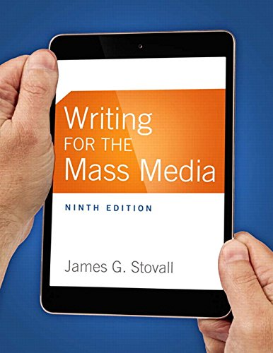 WRITING FOR THE MASS MEDIA: STOVALL