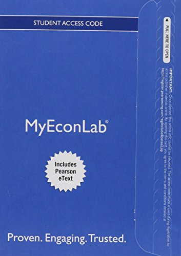 9780133864069: MyEconLab with Pearson eText -- Access Card -- for The Economics of Money, Banking and Financial Markets, Business School Edition