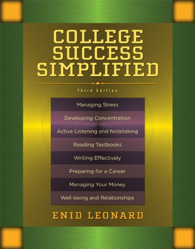 College Success Simplified Plus NEW MyStudentSuccessLab -- Access Card Package (3rd Edition): ...