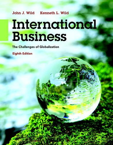9780133866247: International Business: The Challenges of Globalization (8th Edition)