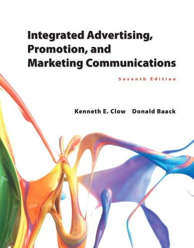 9780133866339: Integrated Advertising, Promotion, and Marketing Communications