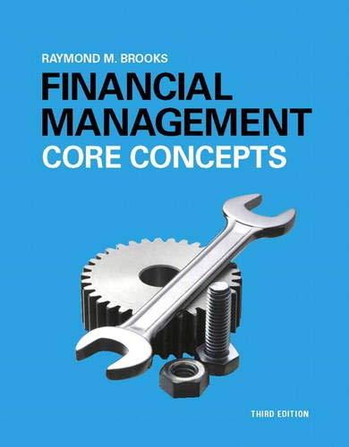 9780133866698: Financial Management: Core Concepts (3rd Edition)
