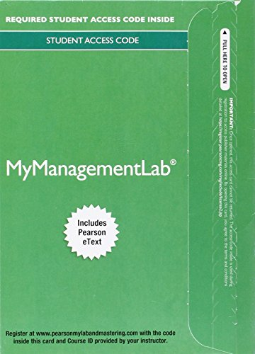 Mymanagementlab with Pearson Etext -- Access Card -- For International Business: The Challenges of ...
