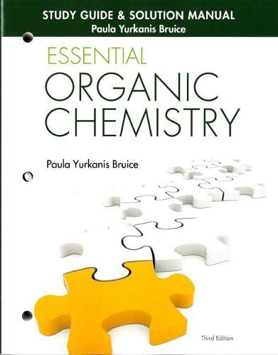 9780133867251: Study Guide & Solution Manual for Essential Organic Chemistry (3rd Edition)