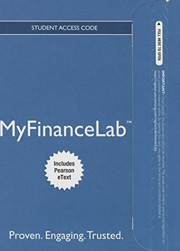 9780133867824: MyLab Finance with Pearson eText -- Access Card -- for Financial Management: Core Concepts