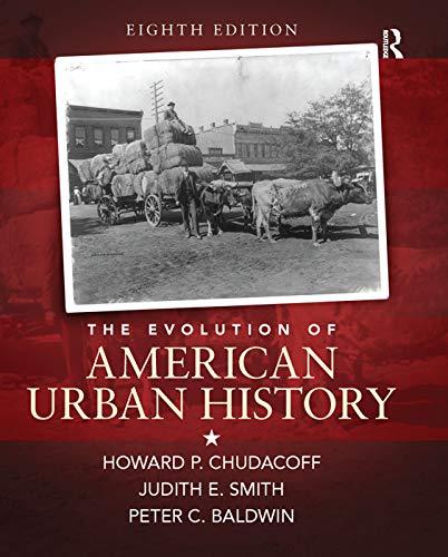 9780133867886: The Evolution of American Urban Society