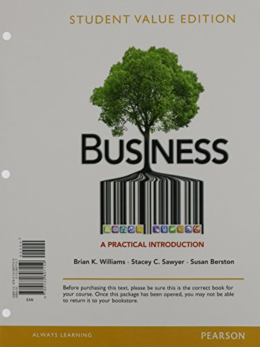 9780133871135: Business: A Practical Introduction, Student Value Edition Plus 2014 MyLab Intro to Business with Pearson eText -- Access Card Package