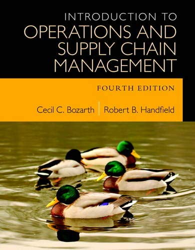 9780133871777: Introduction to Operations and Supply Chain Management (4th Edition)