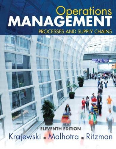 9780133872132: Operations Management: Processes and Supply Chains