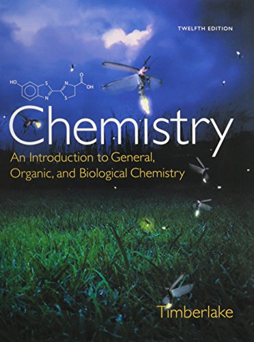 9780133874129: Chemistry & Modified Masteringchemistry with Pearson Etext -- Valuepack Access Card -- For Chemistry: An Introduction to General, Organic, and Biologi