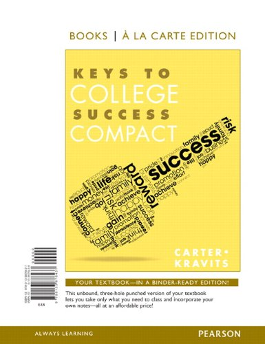9780133876437: Keys to College Success Compact, Student Value Edition