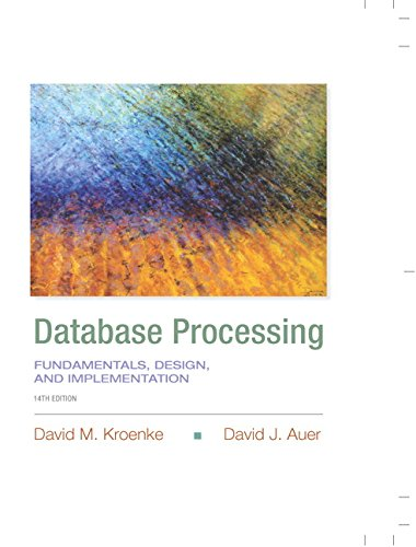 9780133876703: Database Processing: Fundamentals, Design, and Implementation (14th Edition) (Prentice-Hall Adult Education)
