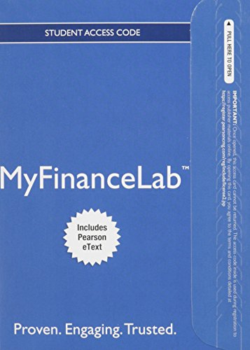 9780133877724: MyLab Finance with Pearson eText -- Access Card --for Personal Finance: Turning Money into Wealth (My Finance Lab)