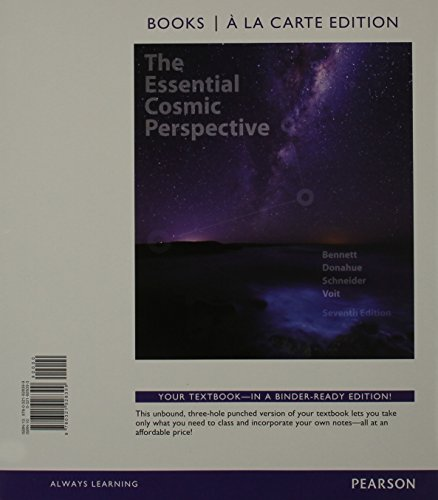 9780133879216: Essential Cosmic Perspective, The, Books a la Carte Edition & Modified MasteringAstronomy with Pearson eText -- ValuePack Access Card -- for The Essential Cosmic Perspective Package