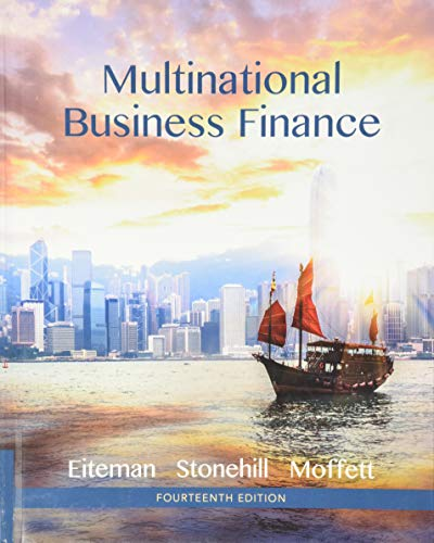 9780133879872: Multinational Business Finance