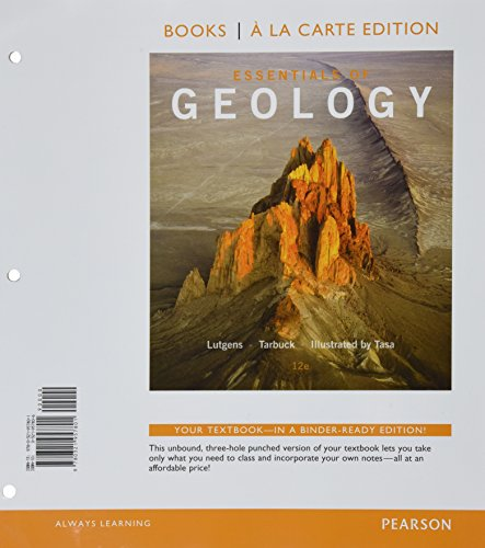 9780133882254: Essentials of Geology, Books a la Carte Edition & Modified MasteringGeology with Pearson eText -- Access Card -- for Essentials of Geology