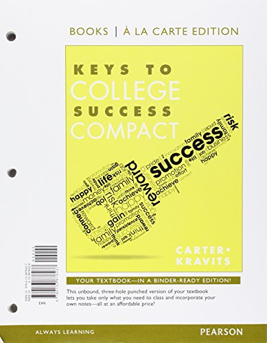9780133886771: Keys to College Success Compact, Student Value Edition Plus NEW MyLab Student Success - Access Card Package