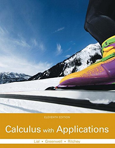 9780133886832: Calculus with Applications Plus MyMathLab with Pearson eText -- Access Card Package (11th Edition) (Lial, Greenwell & Ritchey, The Applied Calculus & Finite Math Series)