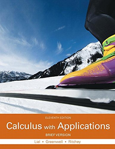 9780133886863: Calculus with Applications, Brief Version Plus MyMathLab with Pearson eText -- Access Card Package (11th Edition) (Lial, Greenwell & Ritchey, The Applied Calculus & Finite Math Series)
