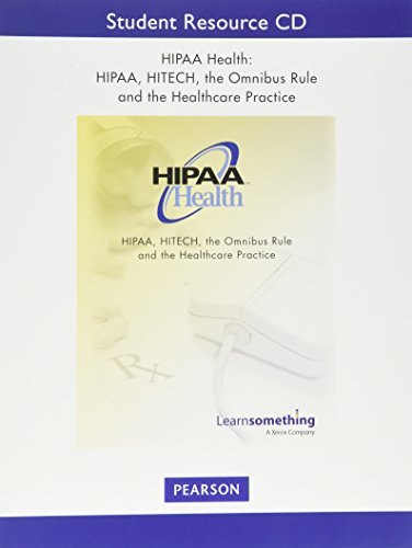 9780133888065: HIPAA Health: The Privacy Rule and Health Care Practice (3rd Edition)