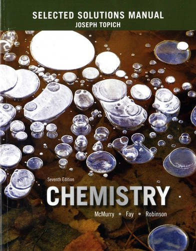 9780133888799: Selected Solutions Manual for Chemistry
