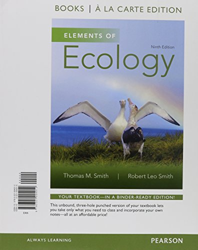 9780133889444: Elements of Ecology, Books a la Carte Plus Mastering Biology with eText -- Access Card Package (9th Edition)