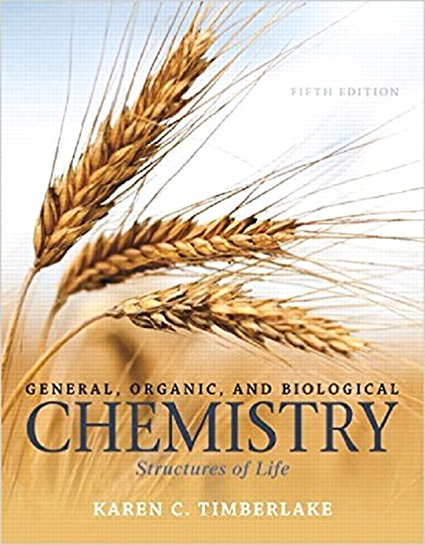 9780133890808: General, Organic, and Biological Chemistry: Structures of Life, Books a la Carte Edition (5th Edition)