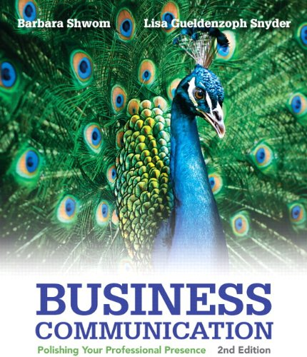 9780133890822: Business Communication: Polishing Your Professional Presence Plus 2014 MyBCommLab with Pearson eText -- Access Card Package (2nd Edition)