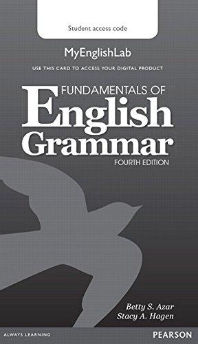 9780133891362: Fundamentals of English Grammar MyLab English (Access Code Card) (My English Lab)