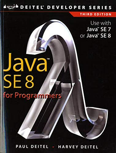9780133891386: Java SE8 for Programmers (3rd Edition) (Deitel Developer Series)