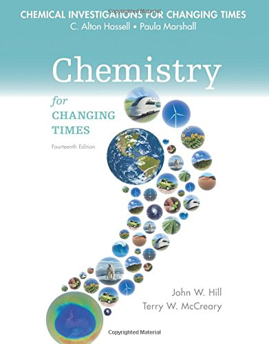 9780133891850: Chemical Investigations for Chemistry for Changing Times
