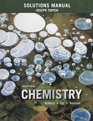 9780133892291: Solutions Manual for Chemistry