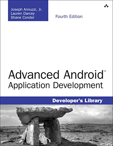 9780133892383: Advanced Android Application Development (4th Edition) (Developer's Library)