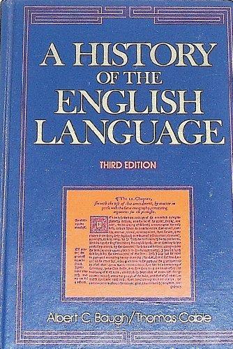 9780133892390: A History of the English Language