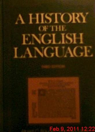 9780133892390: A History of the English Language