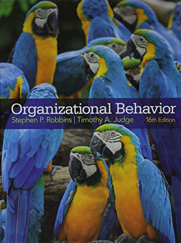 9780133892574: Organizational Behavior and Self Assessment Library 3.4 (16th Edition)
